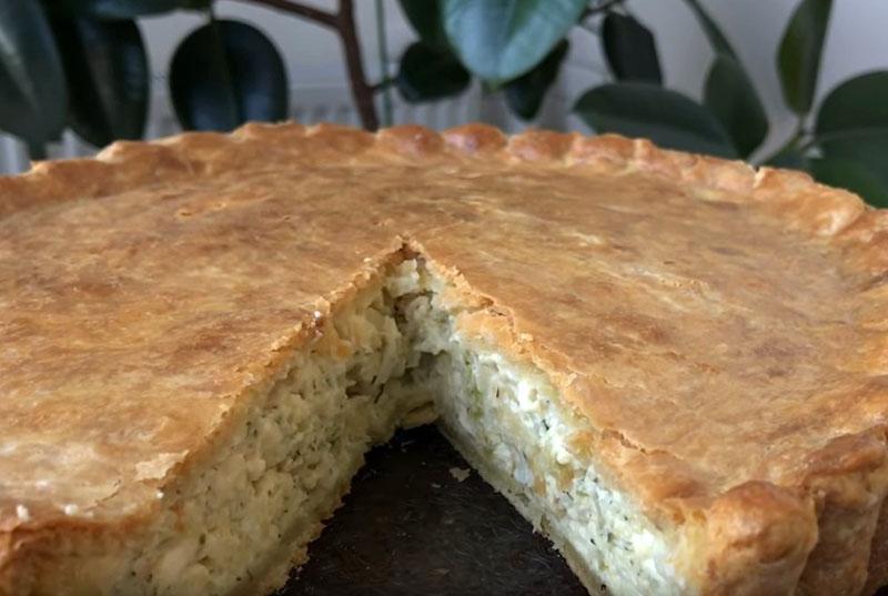 вкусный луковый пирог