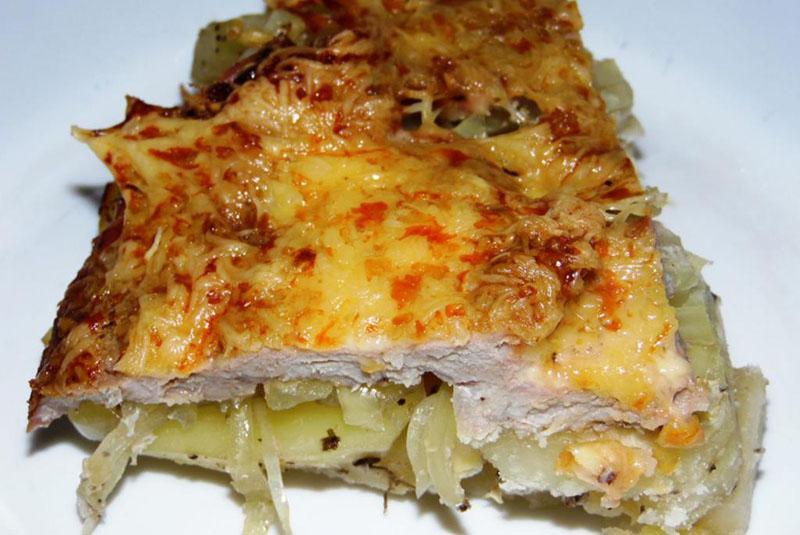мясо по-французски с картошкой по оригинальному рецепту