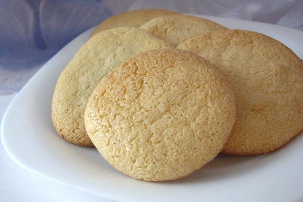 простой рецепт миндального печенья
