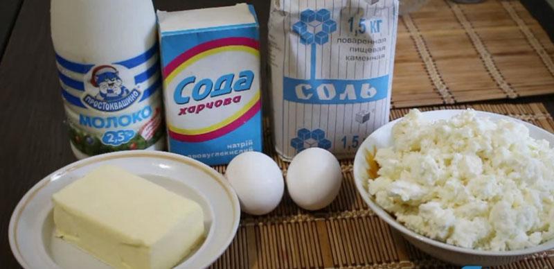 продукты для приготовления домашнего сыра