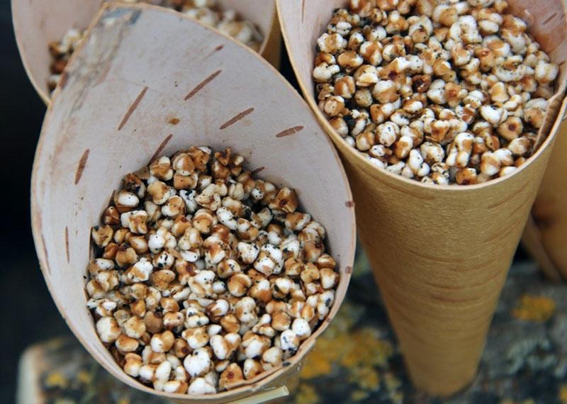 калорийность гречневого попкорна