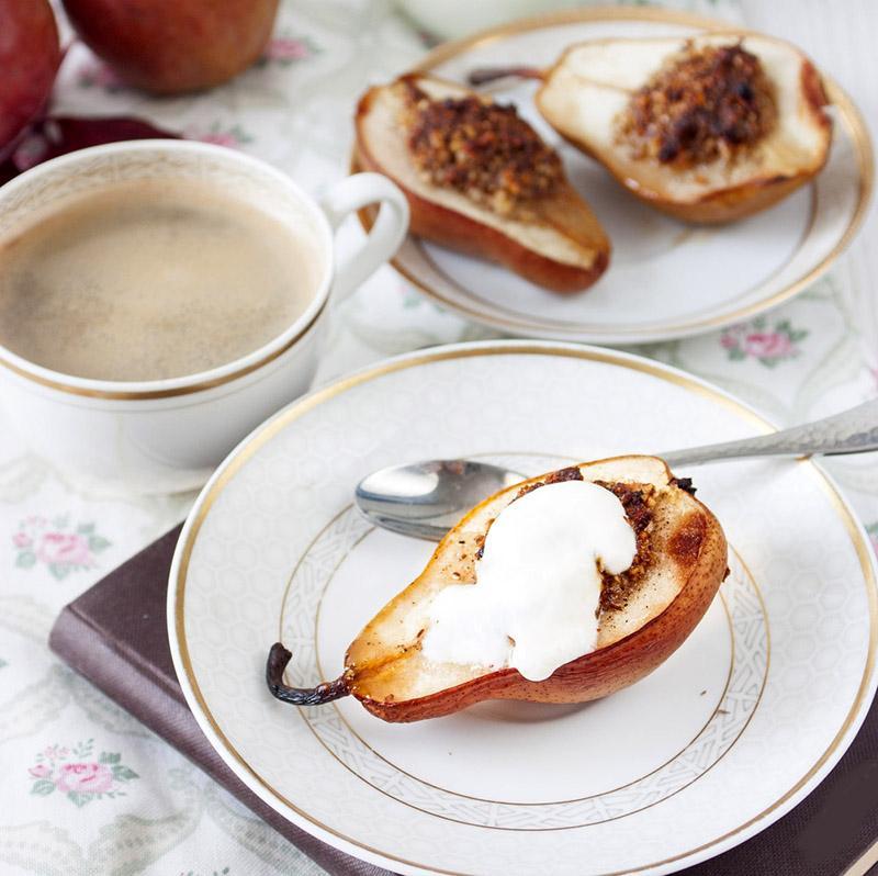 десерт из груш