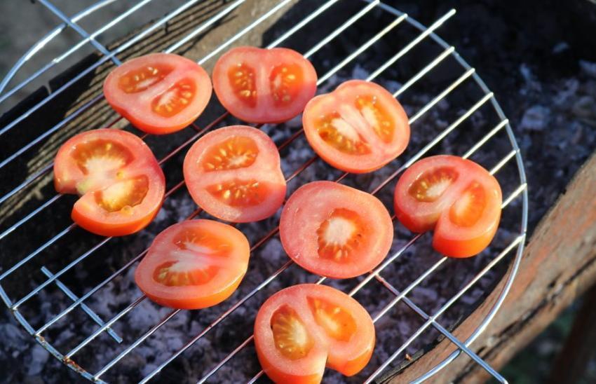 как приготовить помидоры на гриле