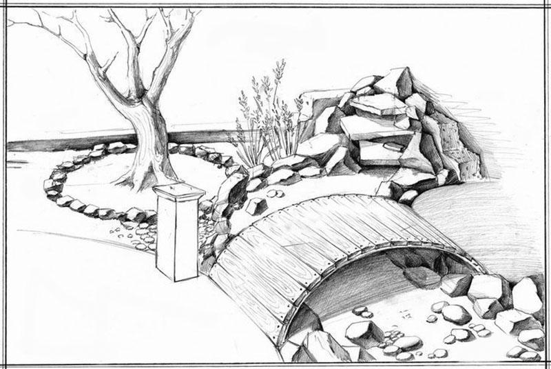 эскиз будущего мини сада