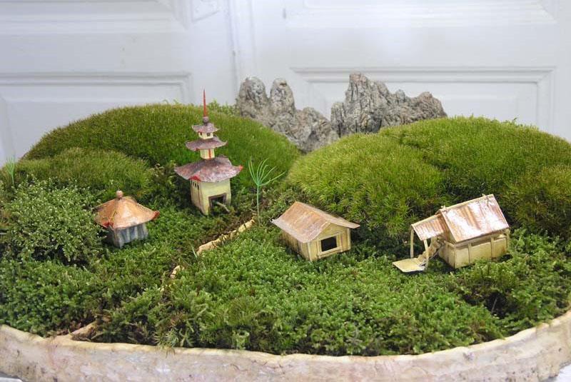 мини сад в японском стиле