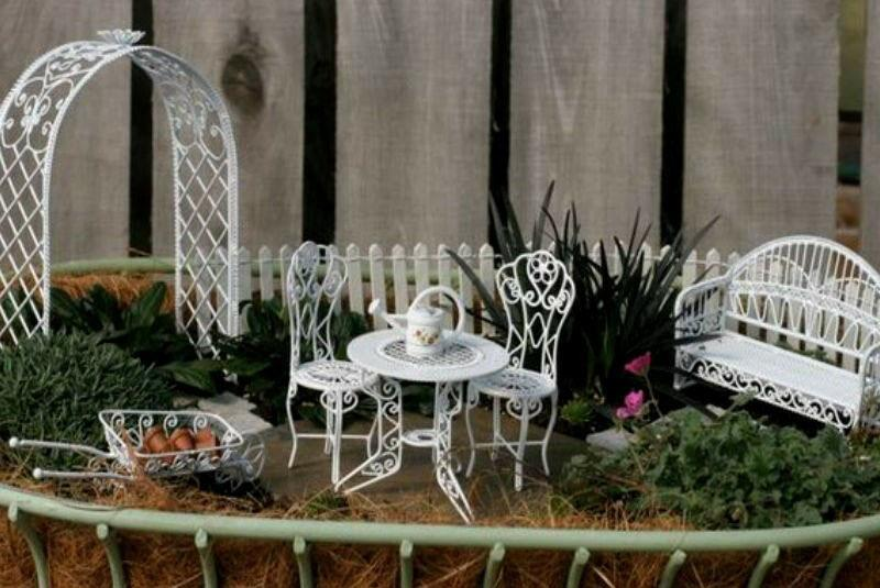 мини сад своими руками в французском стиле