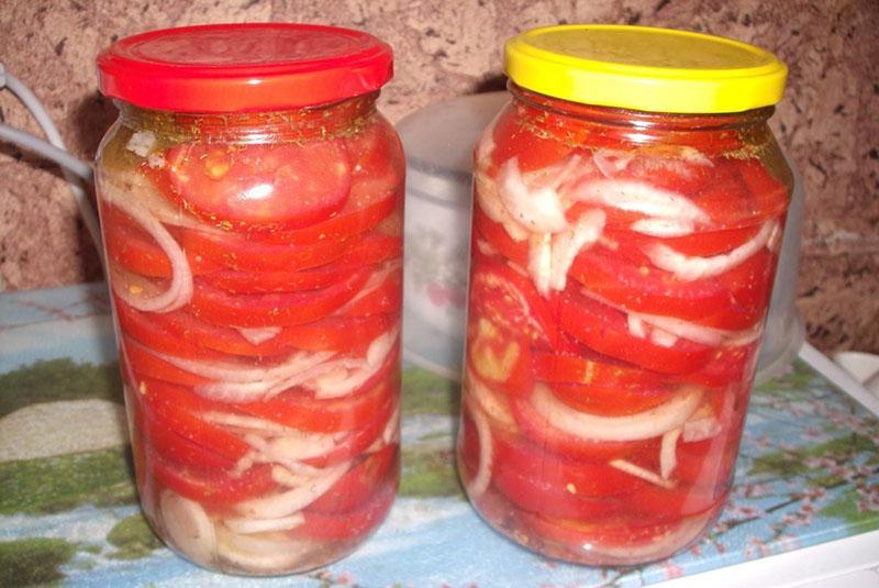 рецепт помидор пальчики оближешь с луком слоями