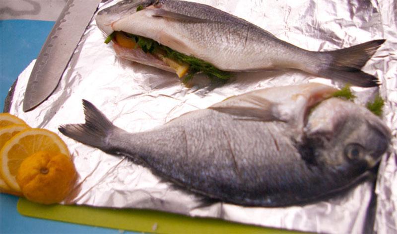 нафаршировать рыбу