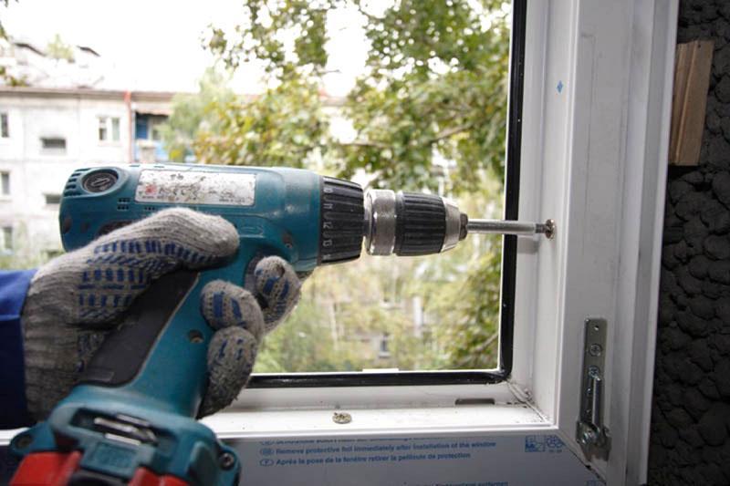 Как установить окно пвх своими руками фото