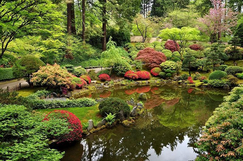 участок в японском стиле в ландшафтном дизайне