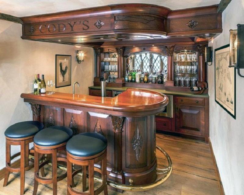 барная стойка в ирландском стиле