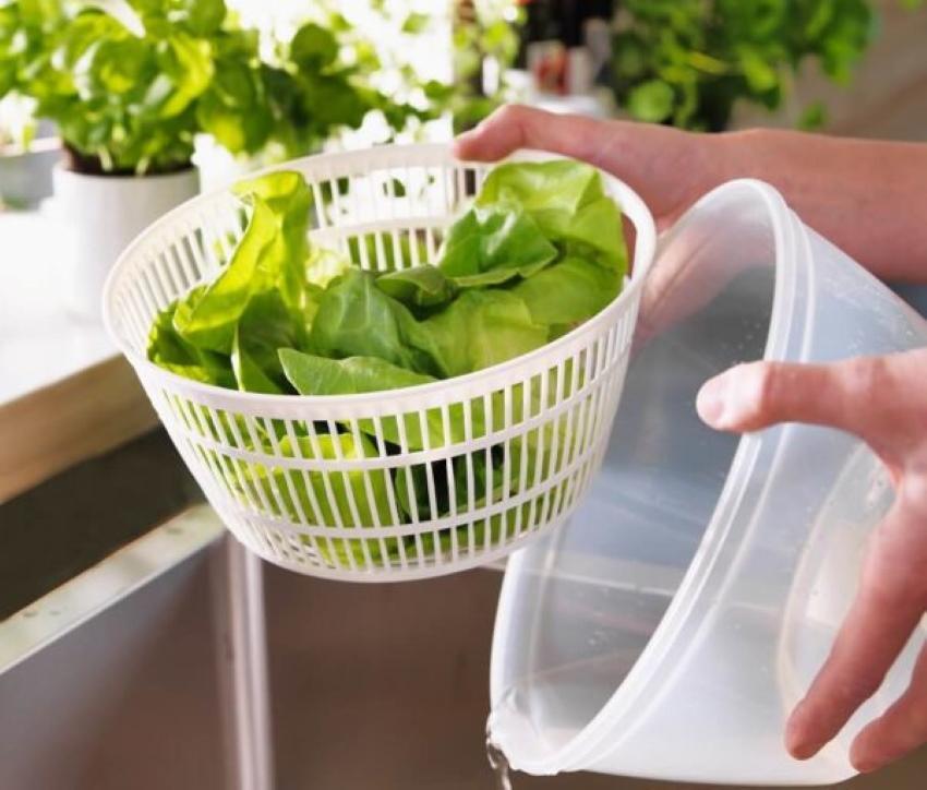 как лучше мыть зелень