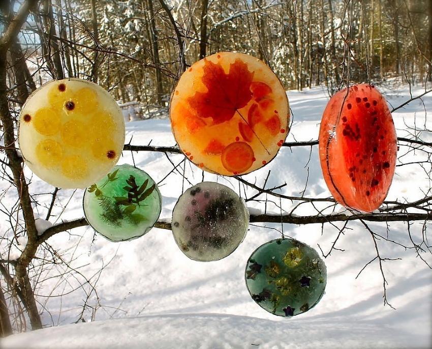 ледяные украшения