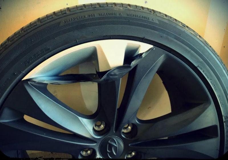 покрытие колеса