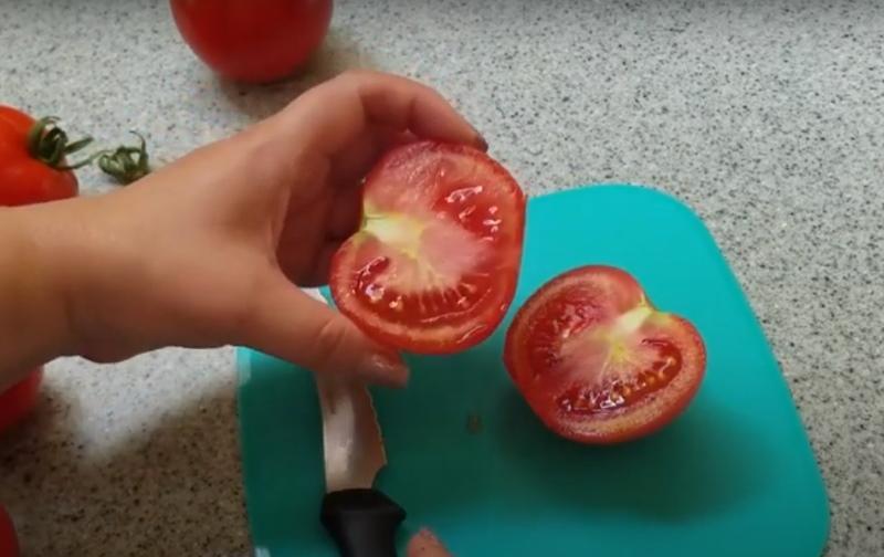 плоды помидоров благовест