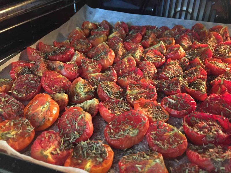 какие помидоры лучше вялить