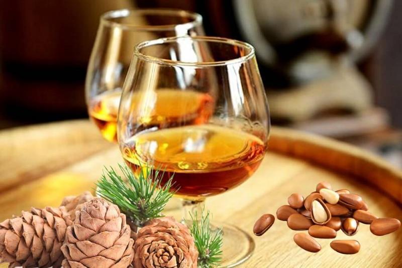водка на кедровых орешках рецепт