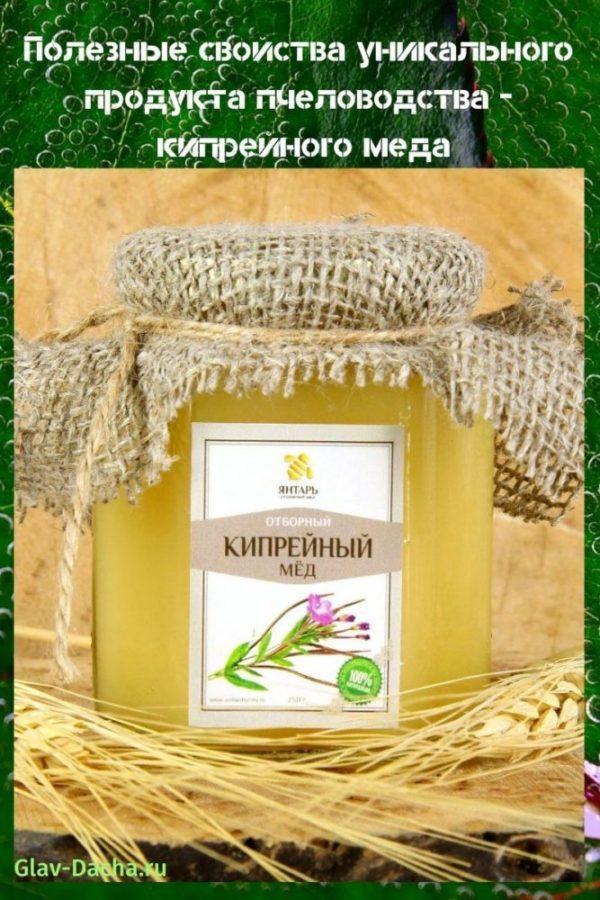 полезные свойства кипрейного меда