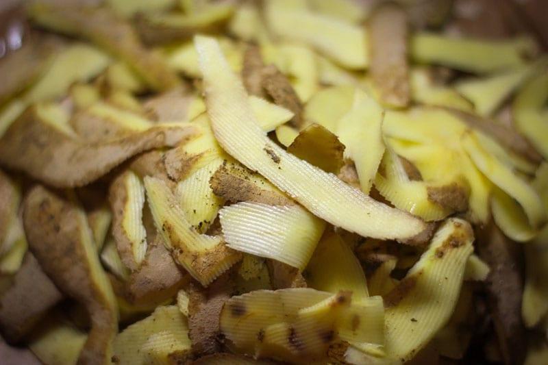 заготовка картофельных очисток