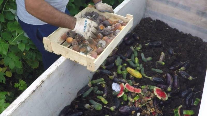 как сделать компост для биогумуса