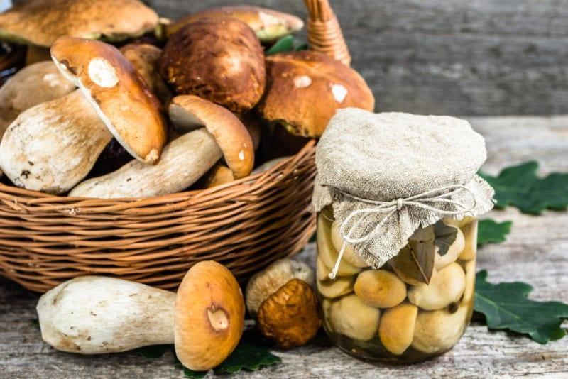 как мариновать грибы на зиму