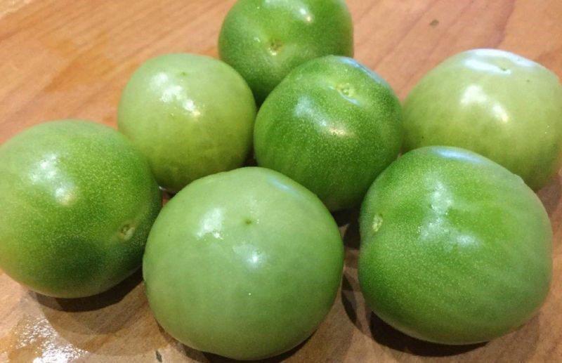 подготовка помидор