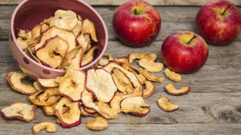 польза сушеных яблок для организма