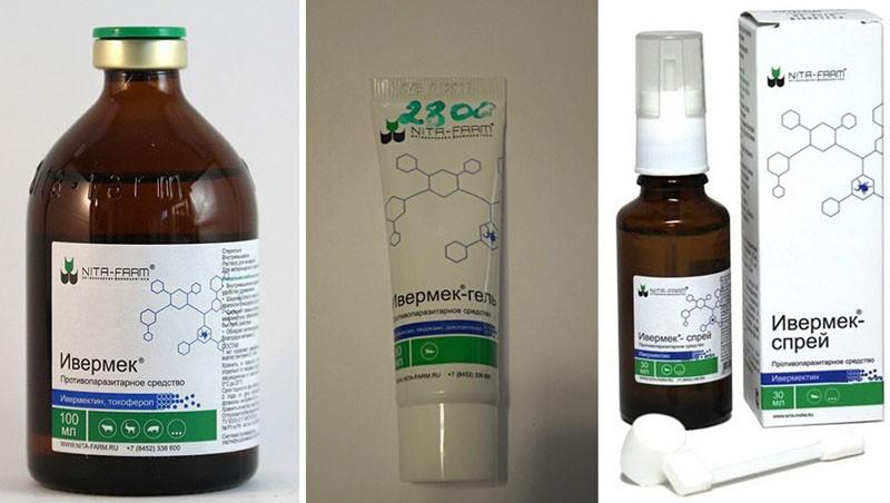 состав препарата ивермек
