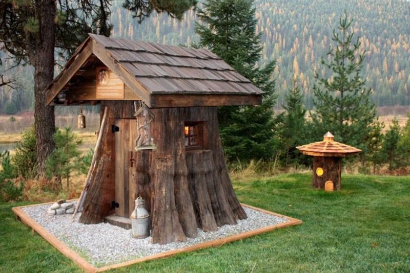 деревянный теремок
