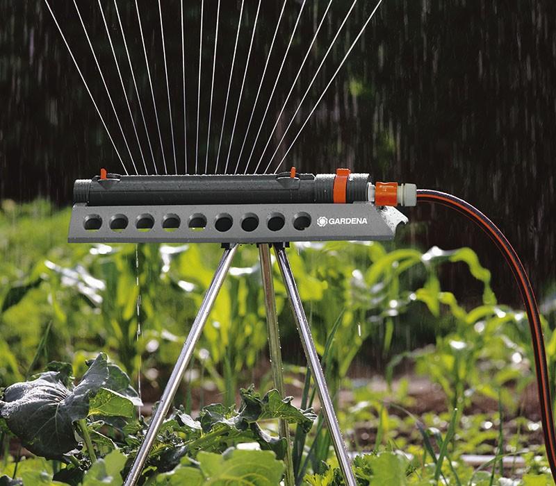 эффективный дождеватель для огорода