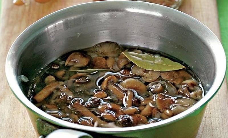 рассол для грибов маринованных
