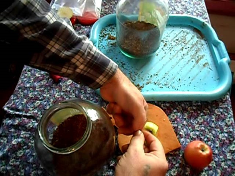 ароматизация табака яблоками