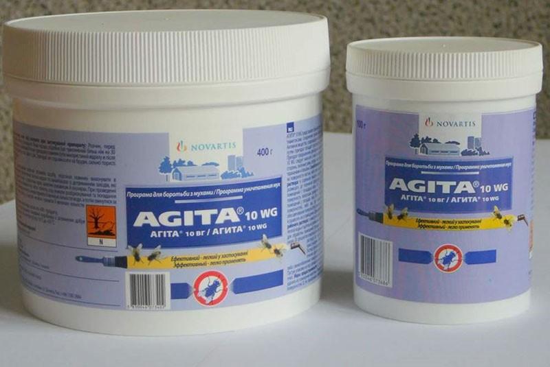 форма препарата агита