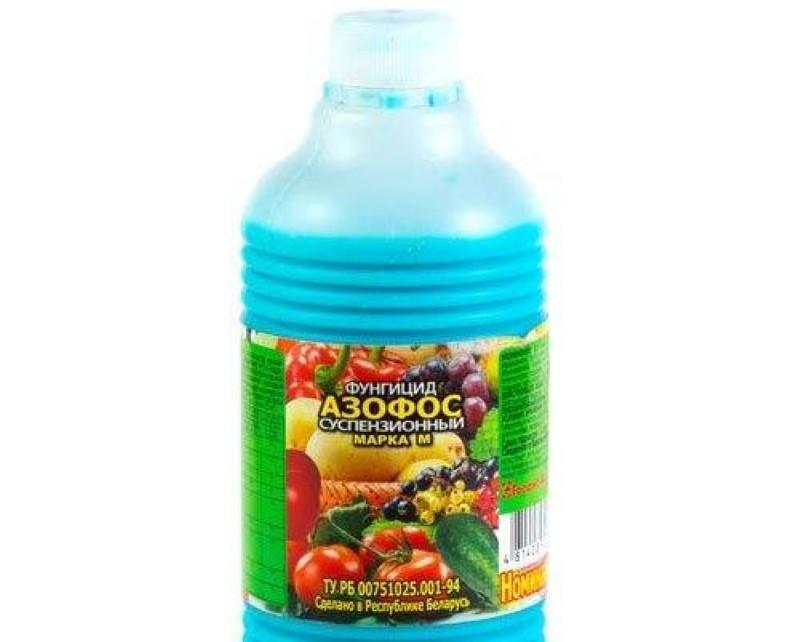 состав и действие фунгицида азофос