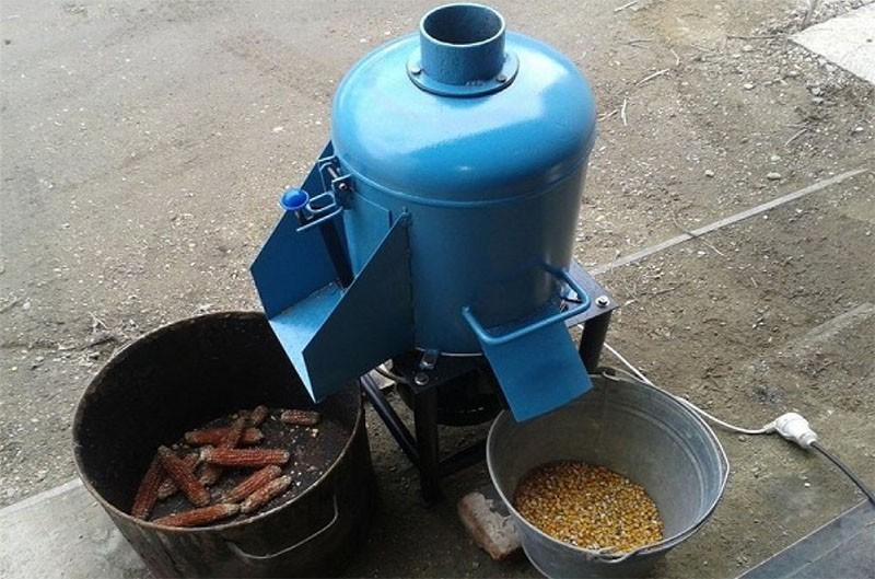 агрегат для обработки кочанов кукурузы