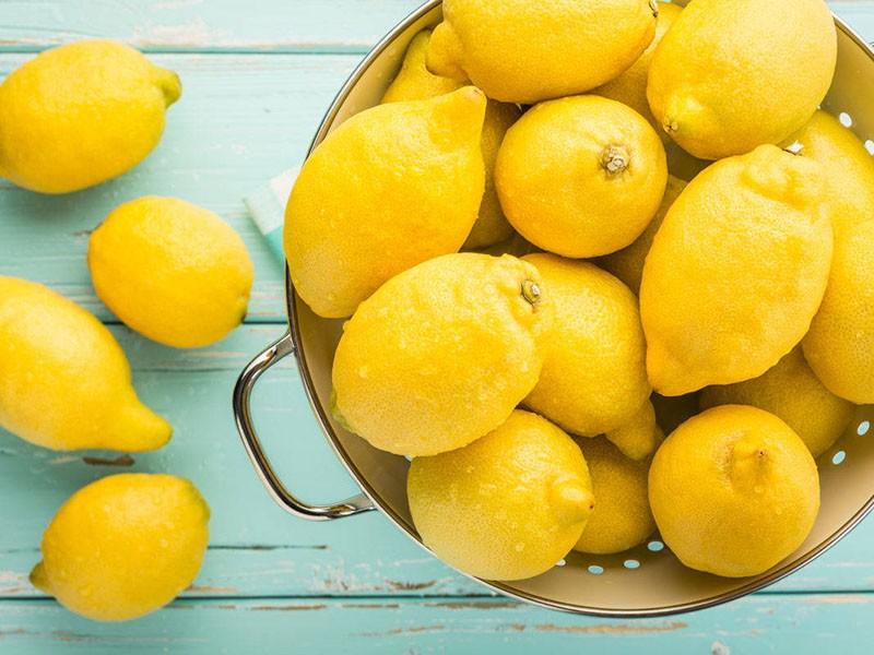 подготовка лимонов к засушке