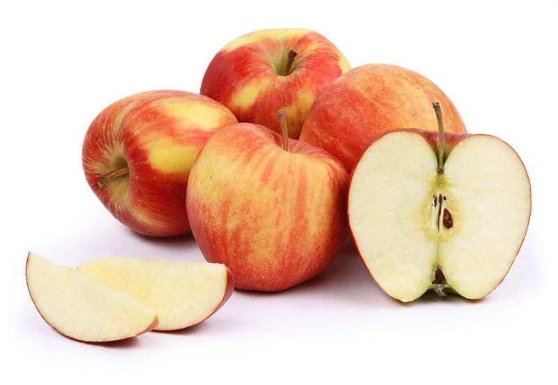 плоды яблони джонаголд