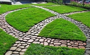 Садовые дорожки на даче (видео)
