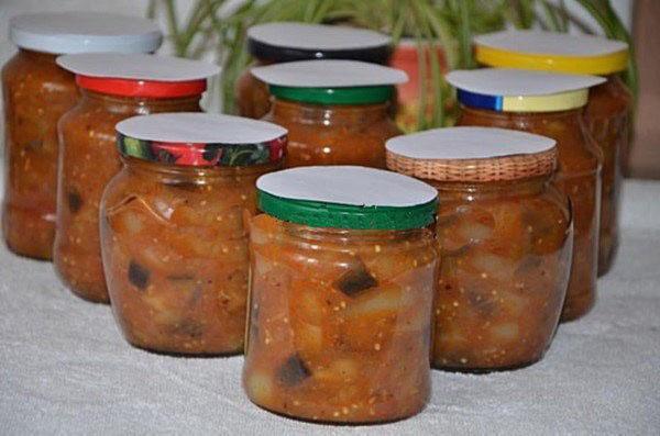 Салат из баклажанов и сладкого перца новые фото